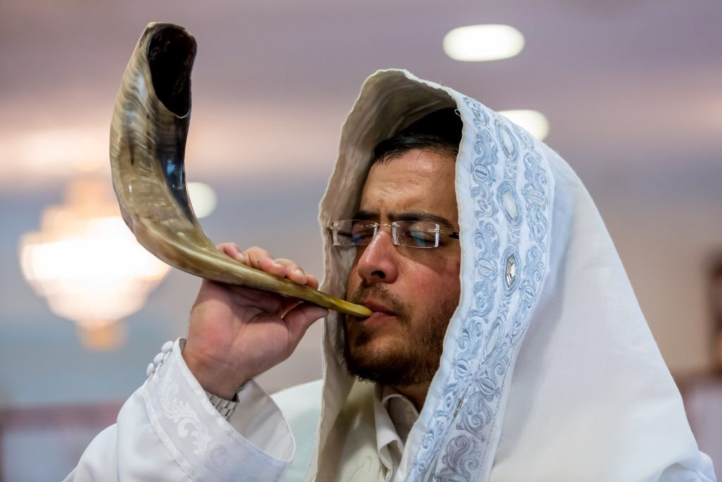 The shofar calls us home. From the Zohar